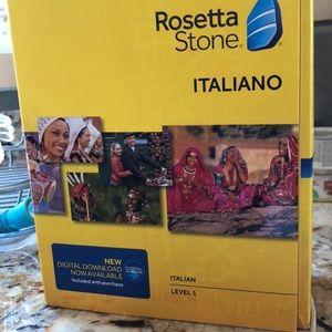 Rosetta Stone Italian level one